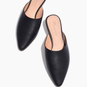 Madewell Remi Mule in Leather